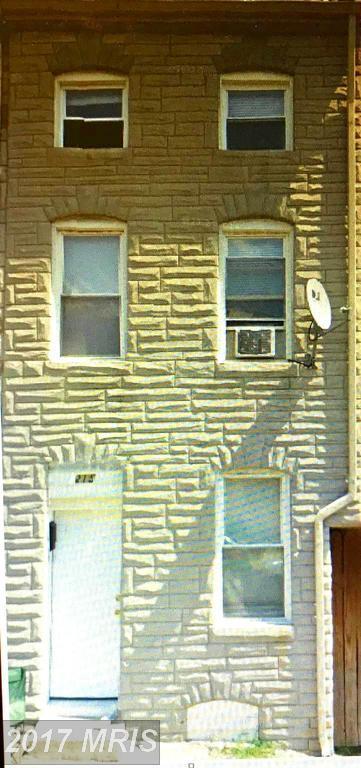 215 S Castle Street, Baltimore, MD 21231 (#BA10050607) :: Pearson Smith Realty