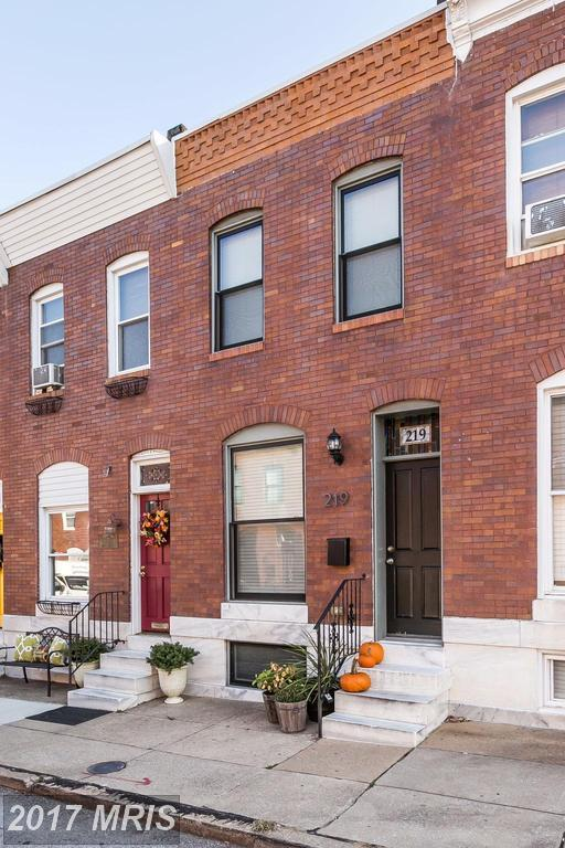 219 Robinson Street S, Baltimore, MD 21224 (#BA10073966) :: SURE Sales Group