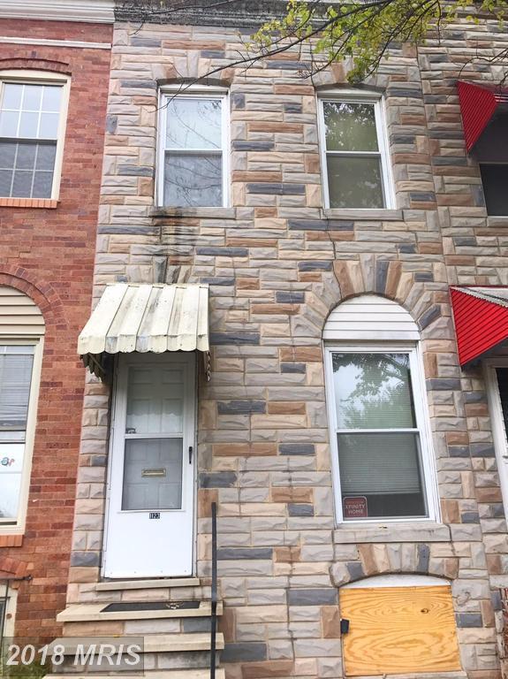 1123 Bayard Street, Baltimore, MD 21223 (#BA10081129) :: Pearson Smith Realty