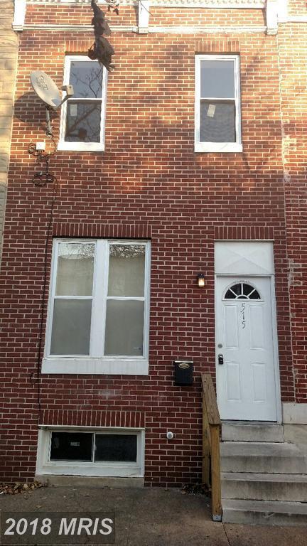 515 Milton Avenue, Baltimore, MD 21205 (#BA10114191) :: Pearson Smith Realty