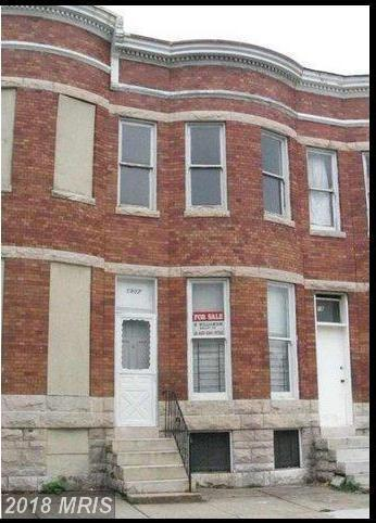 1807 Mount Street, Baltimore, MD 21217 (#BA10134282) :: Pearson Smith Realty