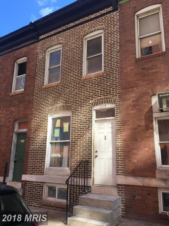 115 Robinson Street, Baltimore, MD 21224 (#BA10181883) :: CR of Maryland