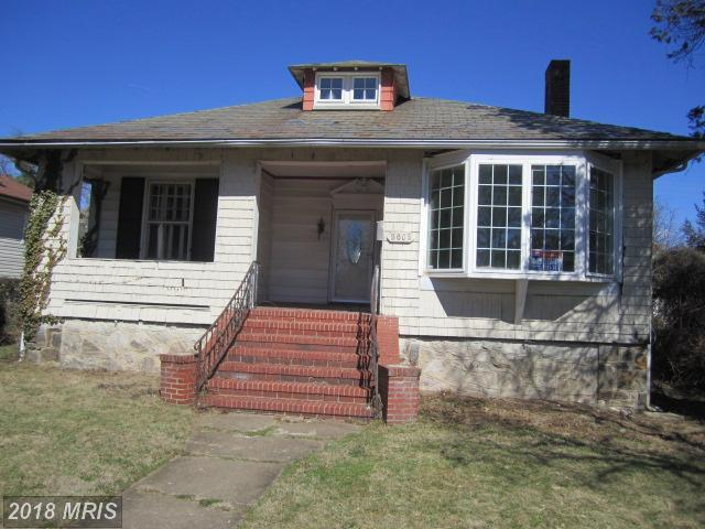 3602 Forest Park Avenue W, Baltimore, MD 21216 (#BA10185427) :: CR of Maryland