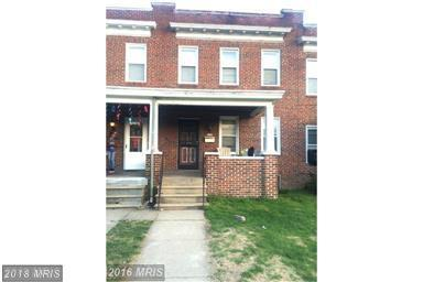 3205 Normount Avenue, Baltimore, MD 21216 (#BA10254550) :: The France Group
