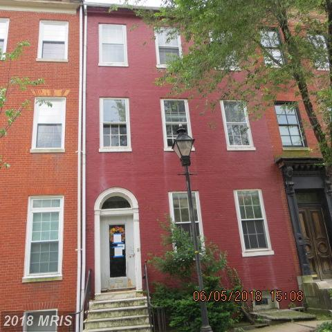 833 Hollins Street, Baltimore, MD 21201 (#BA10267735) :: The Gus Anthony Team