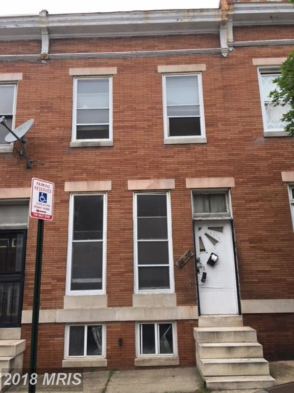 2016 Fayette Street, Baltimore, MD 21223 (#BA10288545) :: Bob Lucido Team of Keller Williams Integrity
