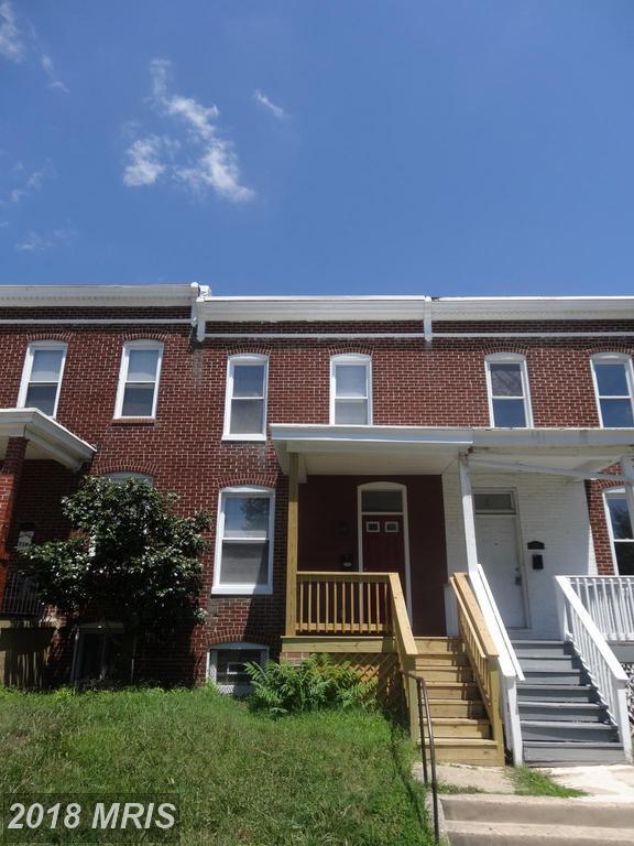 720 Melville Avenue, Baltimore, MD 21218 (#BA10302677) :: Bob Lucido Team of Keller Williams Integrity