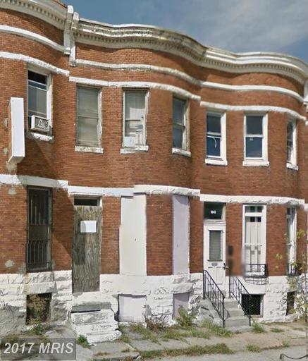 1842 North Avenue W, Baltimore, MD 21217 (#BA9533598) :: Pearson Smith Realty