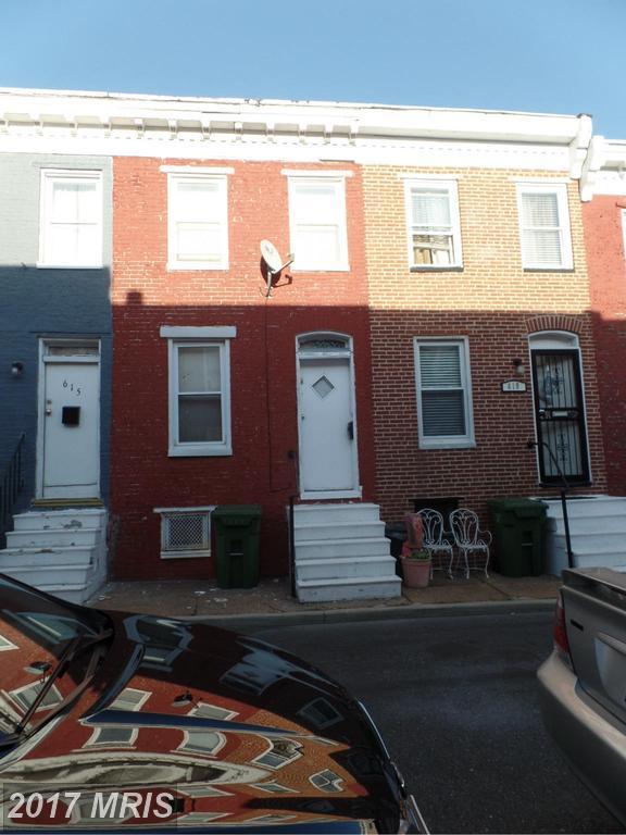 617 Archer Street, Baltimore, MD 21230 (#BA9955072) :: Pearson Smith Realty