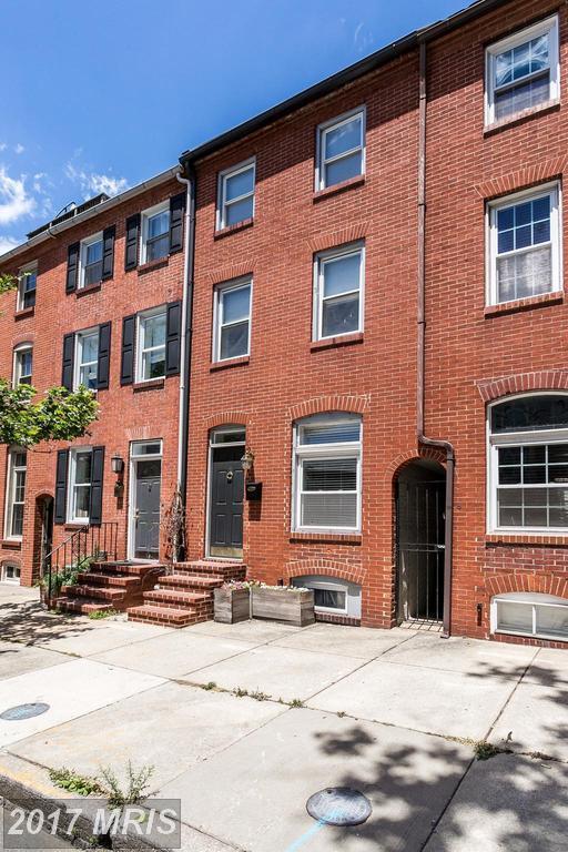 2038 Bank Street, Baltimore, MD 21231 (#BA9966154) :: LoCoMusings