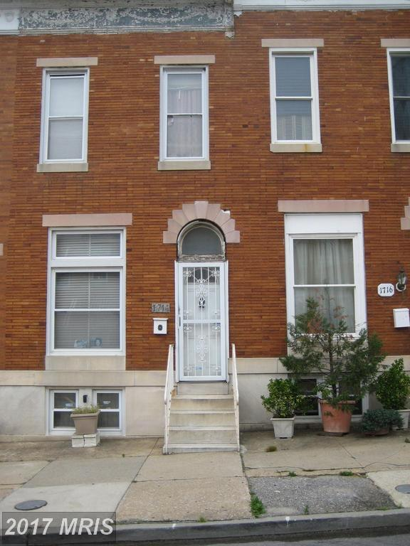 1714 Wolfe Street, Baltimore, MD 21213 (#BA9966960) :: Pearson Smith Realty