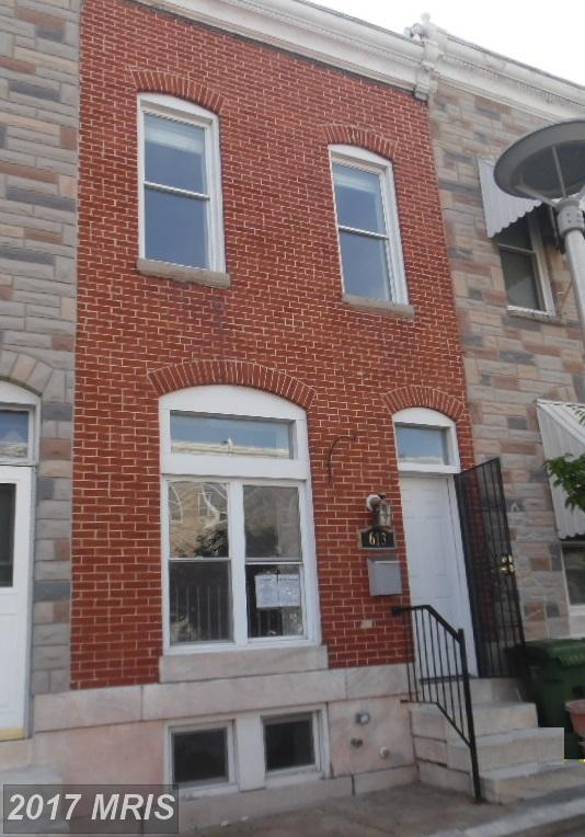 613 Luzerne Avenue N, Baltimore, MD 21205 (#BA9974552) :: Pearson Smith Realty