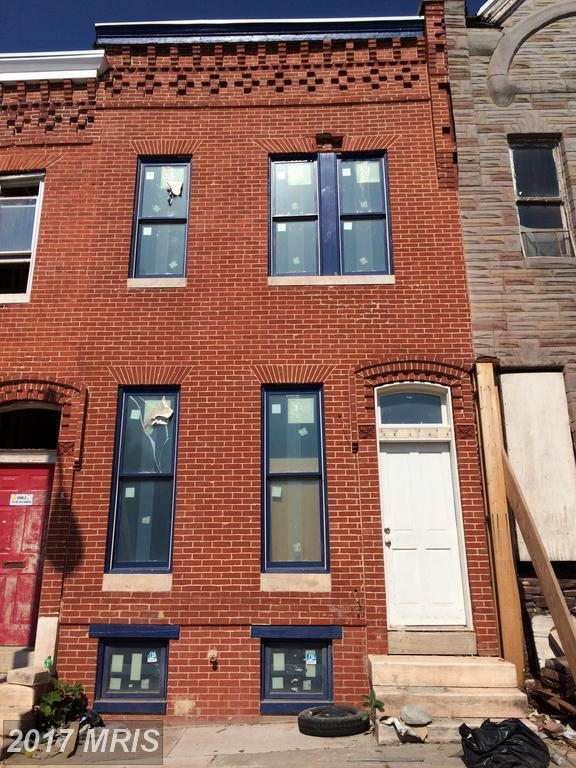 1626 Broadway, Baltimore, MD 21213 (#BA9976909) :: Pearson Smith Realty