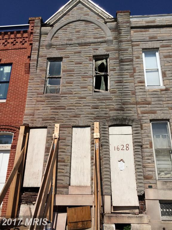 1628 Broadway, Baltimore, MD 21213 (#BA9976941) :: Pearson Smith Realty