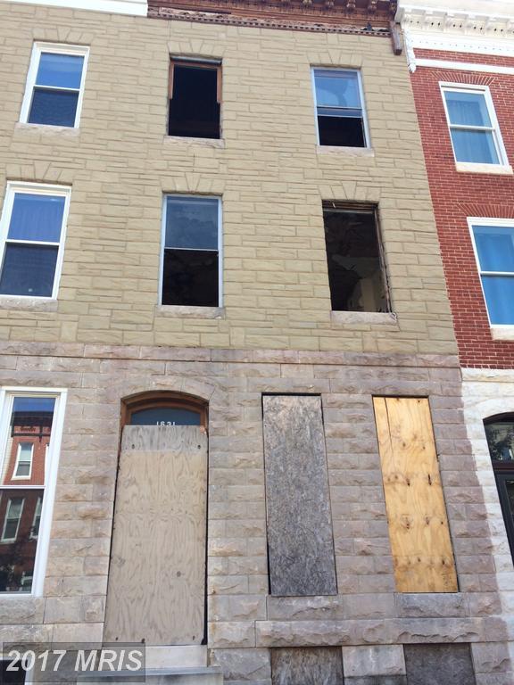 1631 Caroline Street, Baltimore, MD 21213 (#BA9976945) :: Pearson Smith Realty