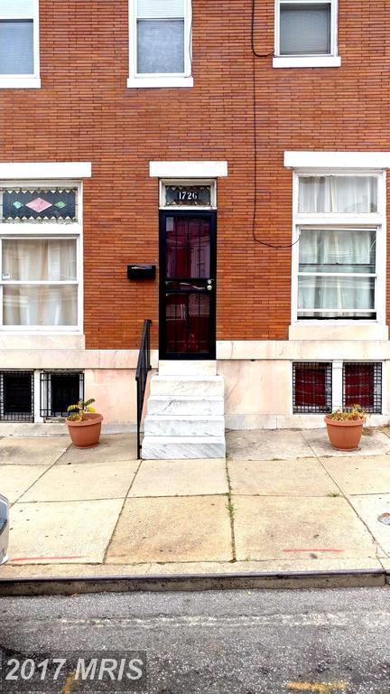 1726 Smallwood Street, Baltimore, MD 21216 (#BA9982088) :: Pearson Smith Realty