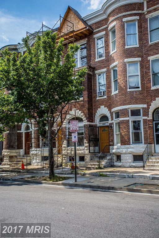 440 22ND Street E, Baltimore, MD 21218 (#BA9993177) :: The MD Home Team