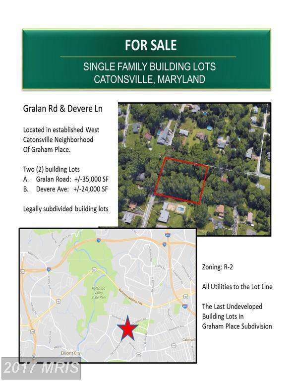 Gralan Road, Catonsville, MD 21228 (#BC10103345) :: LoCoMusings