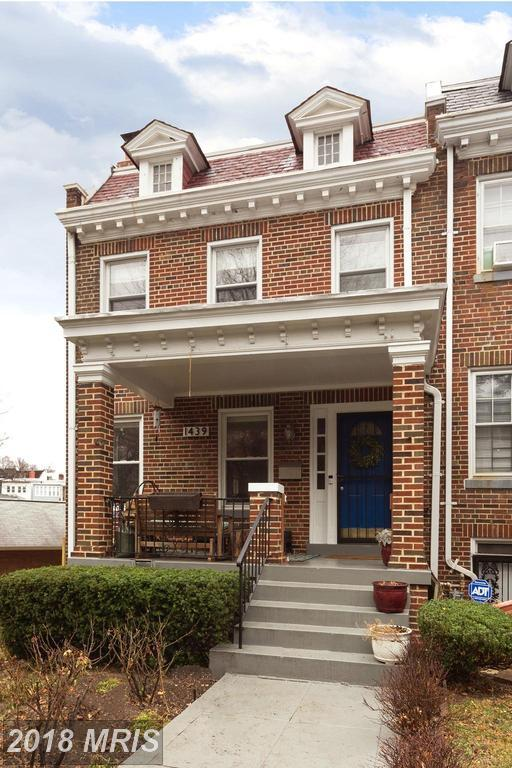 1439 Taylor Street NW, Washington, DC 20011 (#DC10137161) :: Pearson Smith Realty