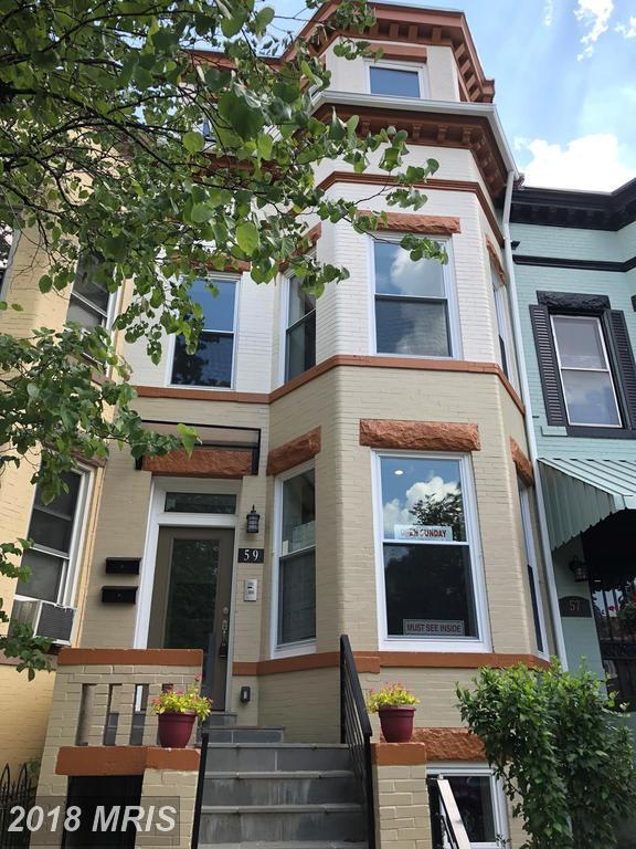 59 R St. Unit 1 NE, Washington, DC 20002 (#DC10299944) :: Crossman & Co. Real Estate
