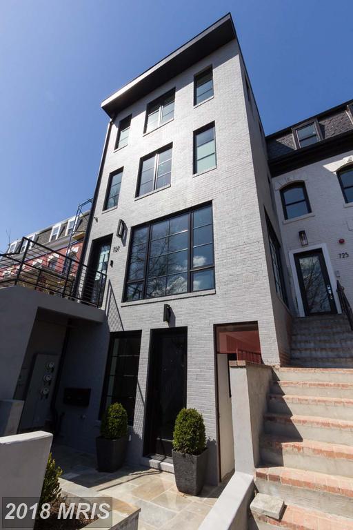 727 Euclid Street NW Unit A, Washington, DC 20001 (#DC10304225) :: Crossman & Co. Real Estate