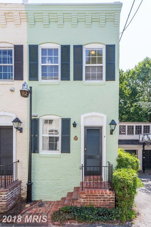 9 Pomander Walk NW, Washington, DC 20007 (#DC9014229) :: Crossman & Co. Real Estate