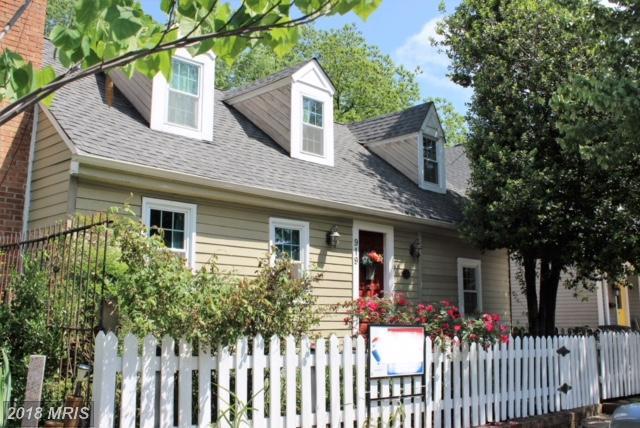 919 Hanover Street, Fredericksburg, VA 22401 (#FB10250779) :: The Withrow Group at Long & Foster