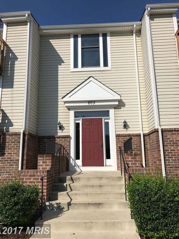 803-F Stratford Way #6, Frederick, MD 21701 (#FR10037305) :: Pearson Smith Realty