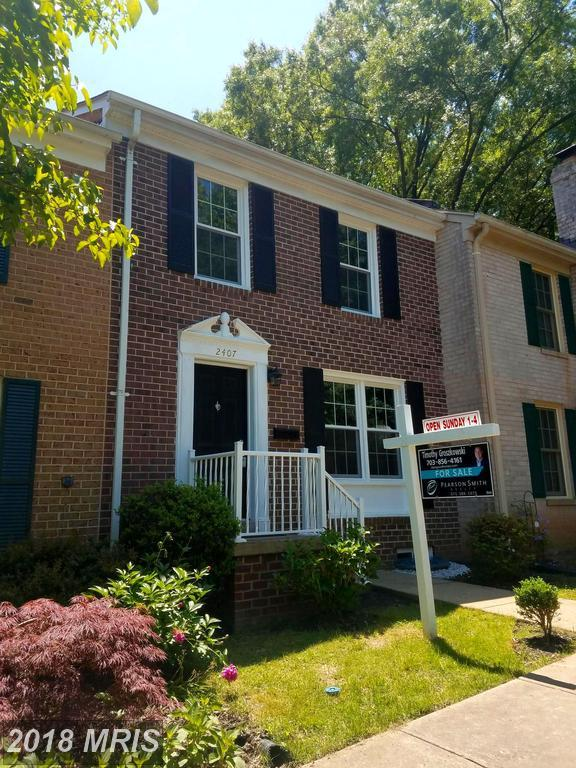 2407 Ansdel Court, Reston, VA 20191 (#FX10251875) :: The Putnam Group