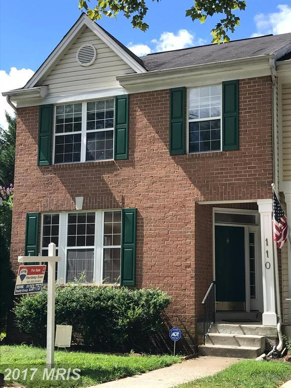 110 Twelve Oaks Court, Gaithersburg, MD 20878 (#MC9998905) :: Pearson Smith Realty