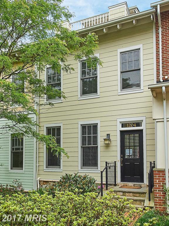 1204 Danville Street, Arlington, VA 22201 (#AR9937879) :: Pearson Smith Realty