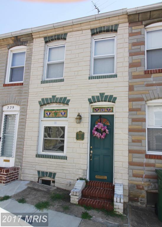 231 Castle Street S, Baltimore, MD 21231 (#BA10032426) :: Pearson Smith Realty