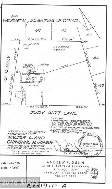 8350 Judy Witt Lane, Vienna, VA 22182 (#FX10190122) :: Eric Stewart Group