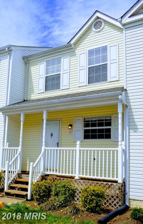 107 Mayfair Place, Stafford, VA 22556 (#ST10201938) :: Circadian Realty Group