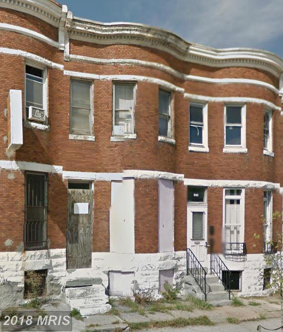 1842 North Avenue W, Baltimore, MD 21217 (#BA9533598) :: SURE Sales Group