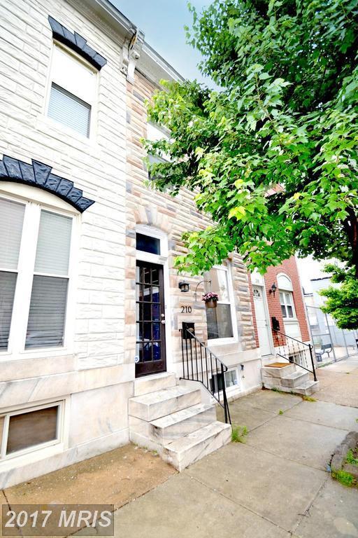 210 Bouldin Street, Baltimore, MD 21224 (#BA9961577) :: LoCoMusings