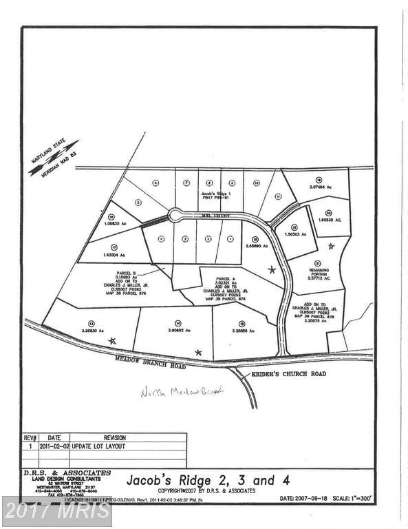14-LOT Jacob's Ridge, Westminster, MD 21157 (#CR9655089) :: Pearson Smith Realty