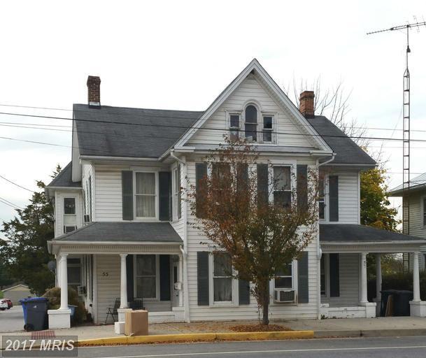 55-/57 Baltimore Street W, Taneytown, MD 21787 (#CR9810713) :: LoCoMusings
