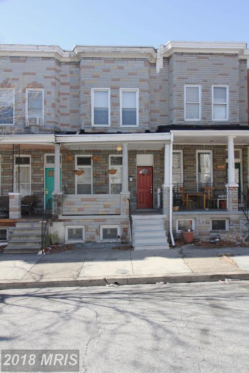 2414 Barclay Street, Baltimore, MD 21218 (#BA10149371) :: The MD Home Team