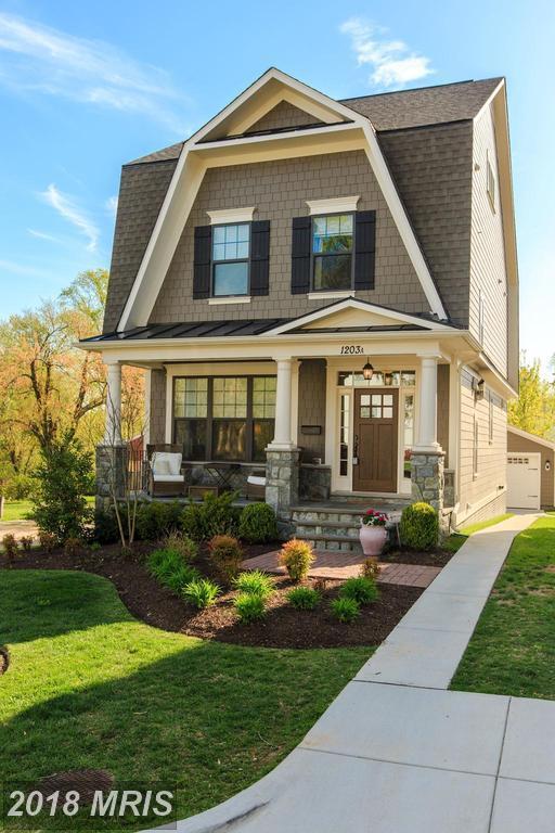 1203-A Lincoln Avenue, Falls Church, VA 22046 (#FA10199182) :: Green Tree Realty