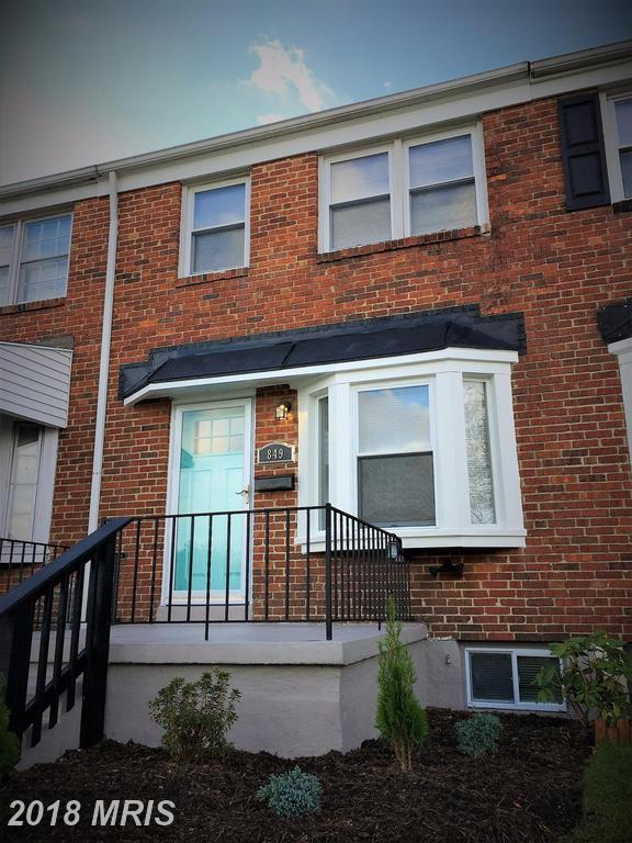849 Arncliffe Road, Baltimore, MD 21221 (#BC10100282) :: Pearson Smith Realty