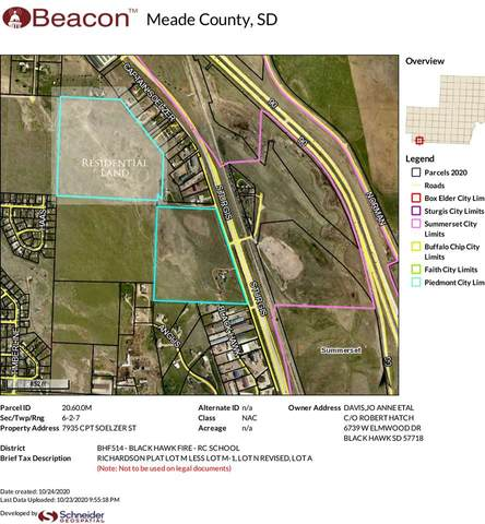 TBD Captain Soelzer Street, Black Hawk, SD 57718 (MLS #66378) :: VIP Properties
