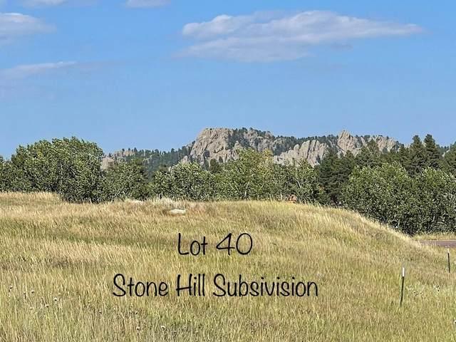 Lot 40 Stone Hill, Custer, SD 57730 (MLS #69710) :: VIP Properties