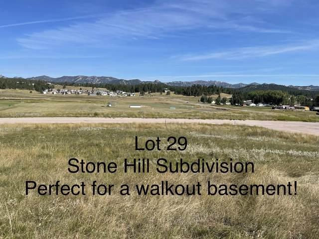 Lot 29 Rose Quartz Place, Custer, SD 57730 (MLS #69782) :: VIP Properties