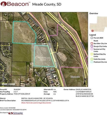 7935 Captain Soelzer Street, Black Hawk, SD 57718 (MLS #66377) :: Dupont Real Estate Inc.