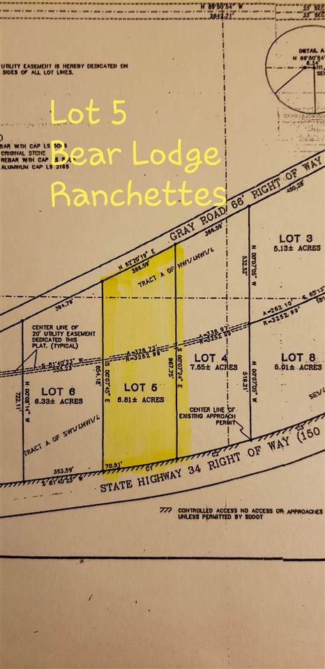 Lot 5 Hay Creek Lane, Belle Fourche, SD 57717 (MLS #63125) :: Christians Team Real Estate, Inc.