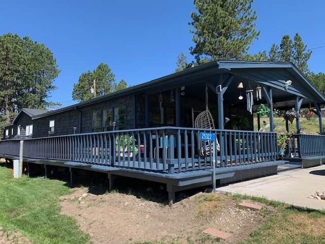 25322 Wind Dance Ranch Road, Custer, SD 57730 (MLS #65282) :: Christians Team Real Estate, Inc.