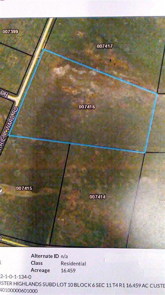 Lot 10 Harriett Ward Road, Edgemont, SD 57735 (MLS #58529) :: Christians Team Real Estate, Inc.