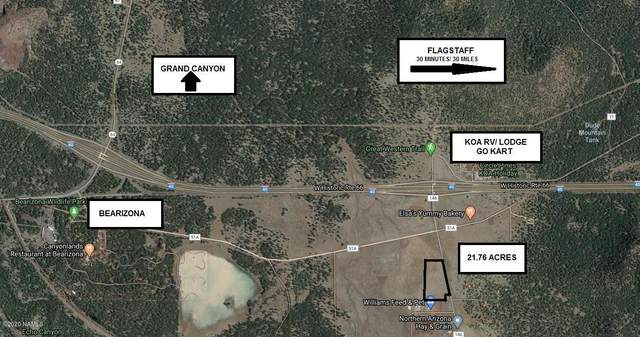 00 S Garland Prairie Rd Road, Williams, AZ 86046 (MLS #182678) :: Keller Williams Arizona Living Realty