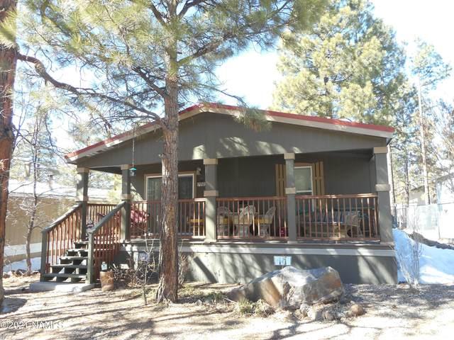 1090 Caribou Road, Munds Park, AZ 86017 (MLS #184662) :: Keller Williams Arizona Living Realty